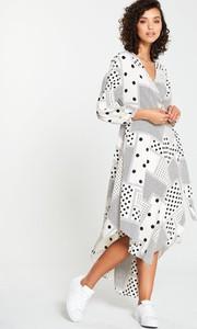 Sukienka V by Very maxi z długim rękawem w stylu casual