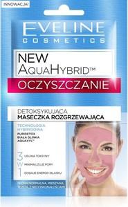 Eveline Aqua Hybrid Oczyszczanie maseczka do cery zmęczonej detoksykująca rozgrzewająca 2 x 5 ml