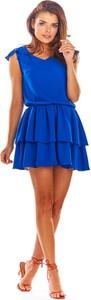 Sukienka Awama z tkaniny mini