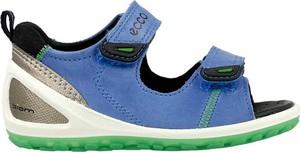 Niebieskie buty dziecięce letnie Ecco