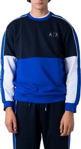 Niebieska bluza Armani Exchange