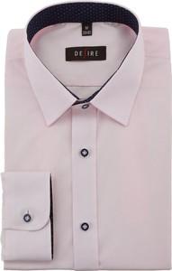 Koszula Desire z klasycznym kołnierzykiem z tkaniny