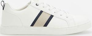Reserved - Sneakersy z ozdobnymi detalami - Biały