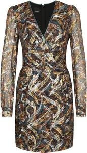 Sukienka Pinko z jedwabiu