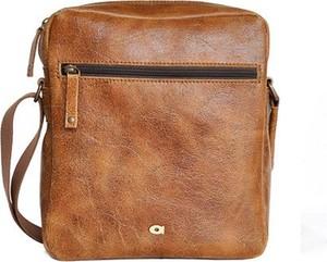 Brązowa torba DAAG ze skóry