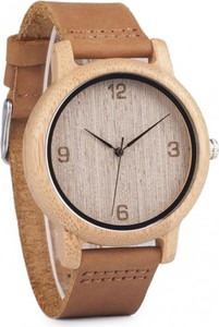Drewniany zegarek BOBO BIRD naturalny