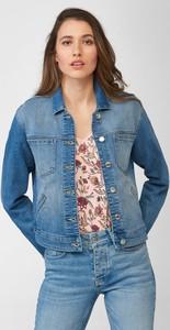 Niebieska kurtka ORSAY krótka z jeansu w stylu casual