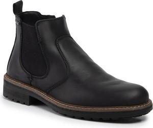 Czarne buty zimowe Imac