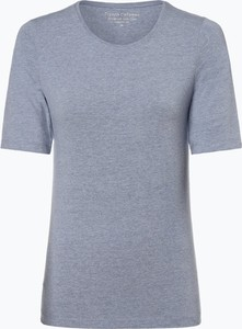 T-shirt Franco Callegari z okrągłym dekoltem z krótkim rękawem w stylu casual