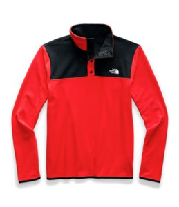 Czerwona bluza The North Face z plaru