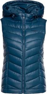 Niebieska kamizelka Pepe Jeans krótka w stylu casual