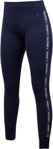 Niebieskie spodnie Tommy Hilfiger w sportowym stylu