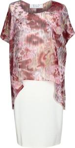 Tunika Fokus w stylu casual z szyfonu