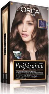 L'Oreal Paris L'Oreal Recital Preference 6.21 Opera farba do każdego typu włosów 120 ml