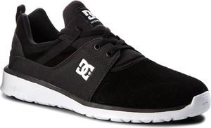 Buty sportowe DC w sportowym stylu ze skóry
