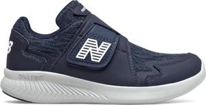 Granatowe buty sportowe dziecięce New Balance na rzepy