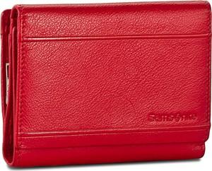 3827f098de27c samsonite portfel damski czerwony - stylowo i modnie z Allani