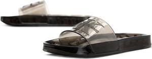 Czarne buty letnie męskie Calvin Klein w street stylu