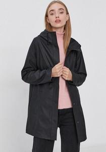 Czarna kurtka Only długa w stylu casual