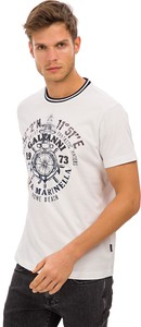 T-shirt Galvanni z bawełny