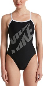 Czarny strój kąpielowy Nike Swim
