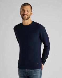 Sweter Lee w stylu casual z bawełny