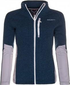 Niebieska bluza HUSKY w stylu casual