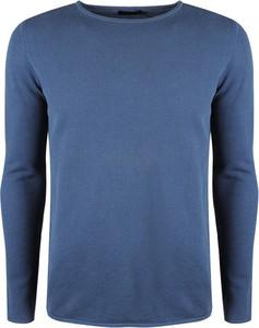 Niebieski sweter Antony Morato z tkaniny
