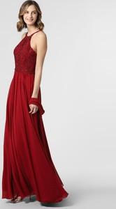 Sukienka Luxuar Fashion rozkloszowana bez rękawów