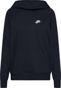 Czarna bluza Nike Sportswear w stylu casual z dresówki krótka