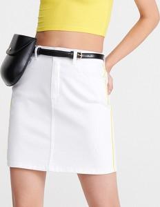 Spódnica Reserved w street stylu z jeansu mini
