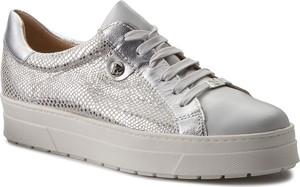 Sneakersy caprice - 9-23700-20 silv rept comb