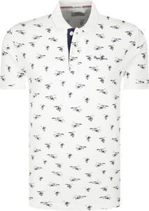 Koszulka polo Pepe Jeans z nadrukiem z krótkim rękawem