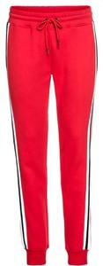 Różowe spodnie sportowe Urban Classics z dresówki