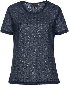 T-shirt bonprix z okrągłym dekoltem z krótkim rękawem