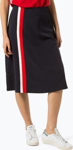 Czarna spódnica S.Oliver midi w stylu casual