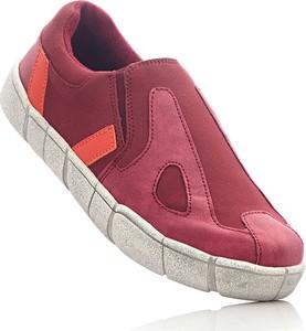 Buty sportowe bonprix bpc bonprix collection z płaską podeszwą w stylu casual