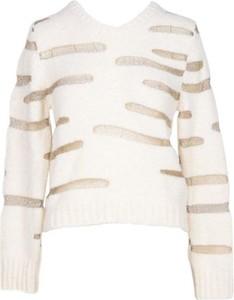 Sweter Messagerie w stylu casual z wełny
