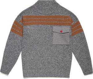 Sweter United Colors Of Benetton w młodzieżowym stylu z wełny