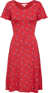 Czerwona sukienka Esprit w stylu casual