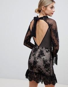 Czarna sukienka Asos Design
