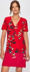 Czerwona sukienka Desigual mini