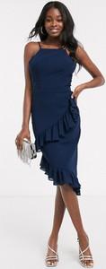 Granatowa sukienka Chi Chi London
