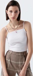Bluzka Cropp w stylu casual z okrągłym dekoltem