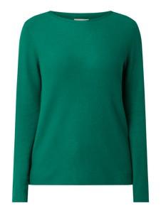 Zielony sweter Marc O'Polo z bawełny w stylu casual