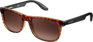 Brązowe okulary damskie Carrera