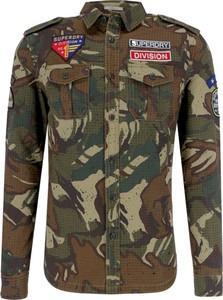 Koszula Superdry w militarnym stylu z długim rękawem