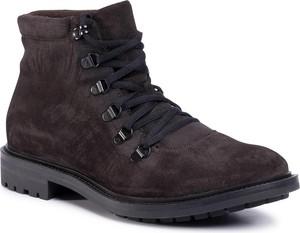 Buty zimowe Gino Rossi ze skóry sznurowane