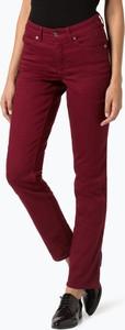 Czerwone jeansy MAC