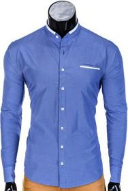 Niebieska koszula ombre clothing